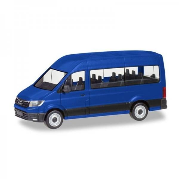 093743 - Herpa - MAN TGE Bus, ultramarinblau