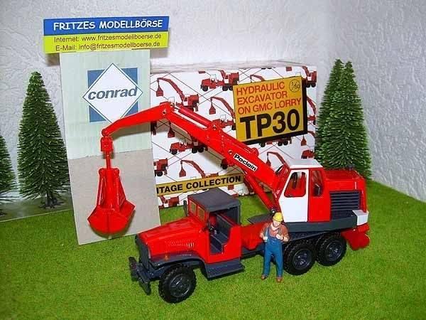 2928/0 - Poclain - Mobilbagger TP30 auf Lastwagen