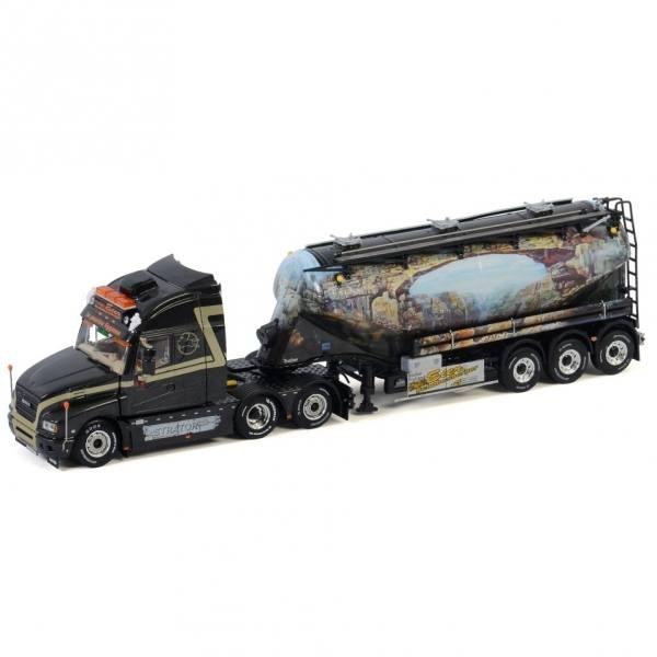 01-3000 - WSI - Iveco Strator HI-WAY 6x2 mit 3achs Bulk-Auflieger/OMEPS - Schobesberger - A -
