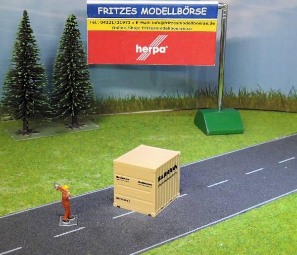 924276 - Herpa - 10ft Container -Baumann / Werkzeug I-  unverpackt