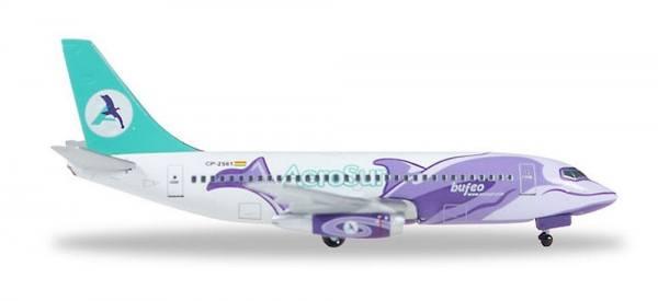 "529952 - Herpa - AeroSur  Boeing 737-200  ""Bufeo"" - 1:500"
