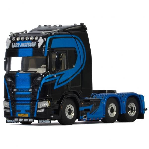 05-0084 - WSI - Scania R HL CR20H 6x2 3achs Zugmaschine - Lars Justesen Transport - DK -