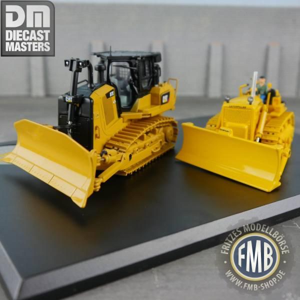 85561 - Diecast Masters - CAT D7C & Cat D7E Planierraupen Set