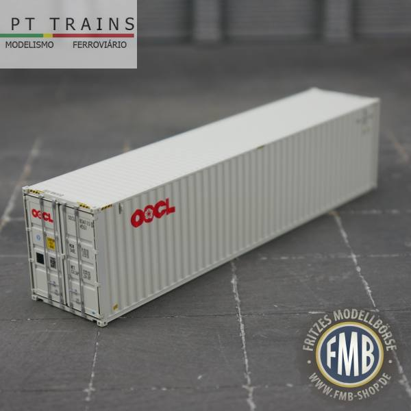 """840029 - PT-Trains - 40ft. Highcube Container """"OOCL - OOCU8041100"""""""