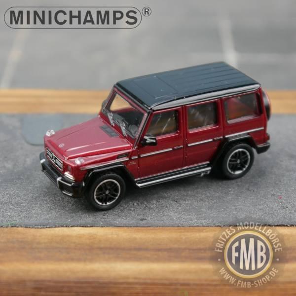 037004 - Minichamps - Mercedes-Benz AMG G 65 (2015), rot metallic