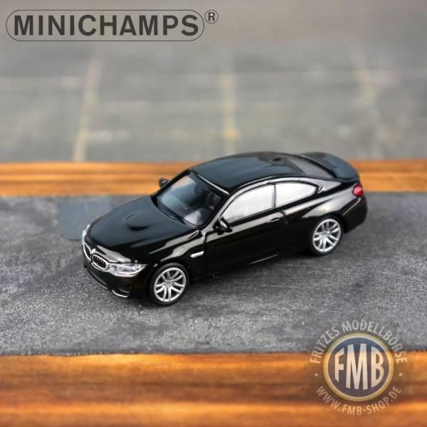 027202 - Minichamps - BMW M4 (2015), schwarz metallic