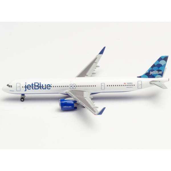 "533805 - Herpa - JetBlue Airways Airbus A321neo ""Balloons"" tail design"