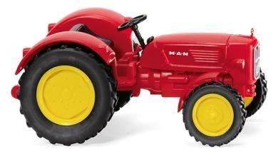 088403 - Wiking - MAN 4R3 Traktor, rot