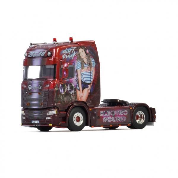 05-0089 - WSI - Scania CS20H 4x2 2achs Zugmaschine - Transport Beau / Electro Sound - F