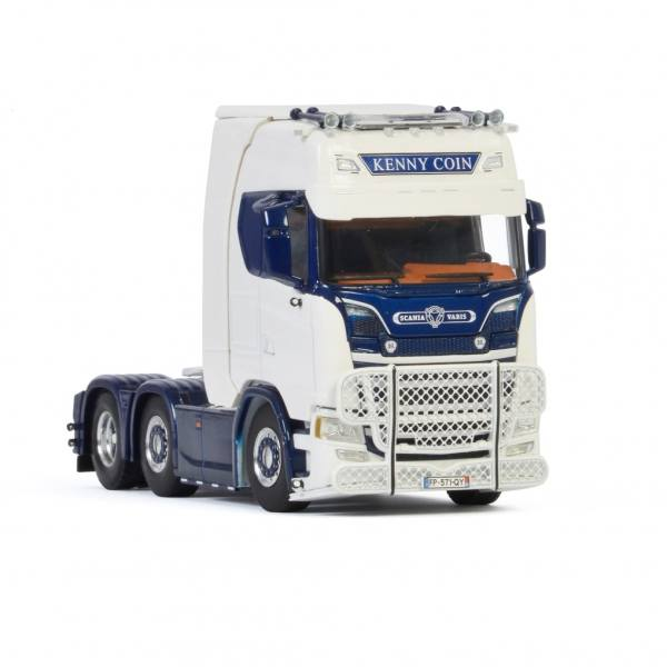 01-3196 - WSI - Scania S HL CS20H 6x2 3achs Zugmaschine - Kenny Coin Transports - F -