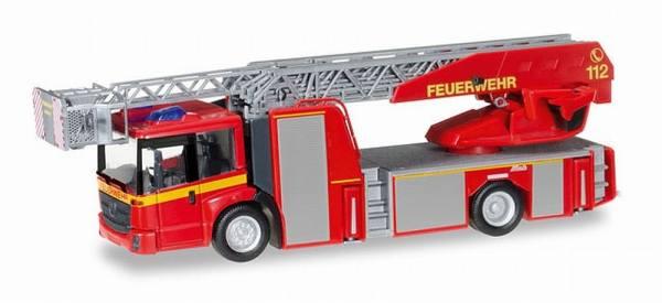 """092777 - Herpa - Mercedes-Benz Econic Metz Drehleiter L32 XS """"Feuerwehr"""""""
