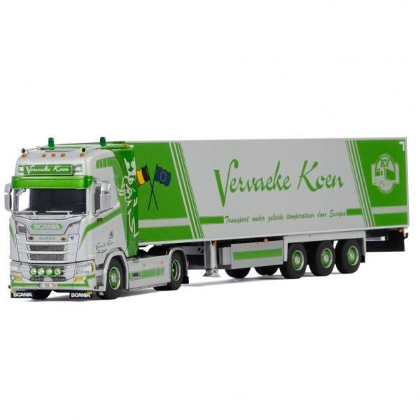 01-3088 - WSI - Scania S HL 4x2 mit 3achs Kühlauflieger - Vervaeke Koen Transport - B -