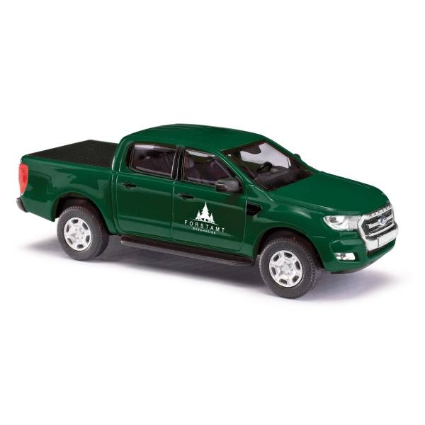 """52813 - Busch - Ford Ranger Doppelkabine `16 mit Ladeflächenabdeckung """"Forstverwaltung"""""""