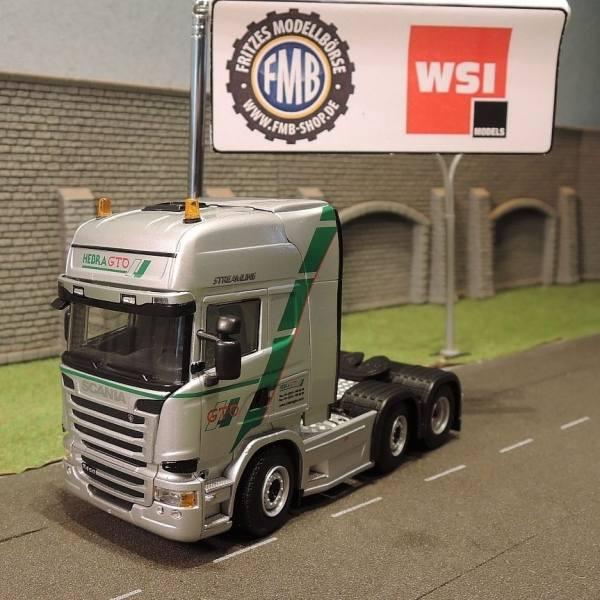 02-1767 - WSI - Scania R450 Streamline TL 6x2 3achs Zugmaschine - Hebra GTO -