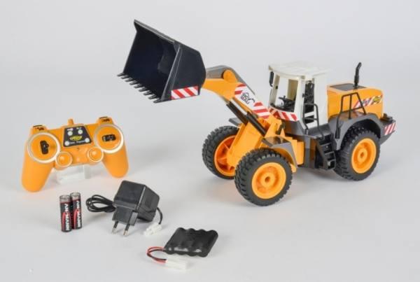 907283 - RC- Radlader mit Fernbedienung 2.4 Ghz - 1:20