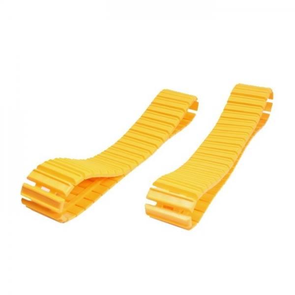 400/29 - NZG - KETTEN 2 Stück - Breite 3,4cm - Gesamtlänge 44,4cm z.B. für CAT gelb