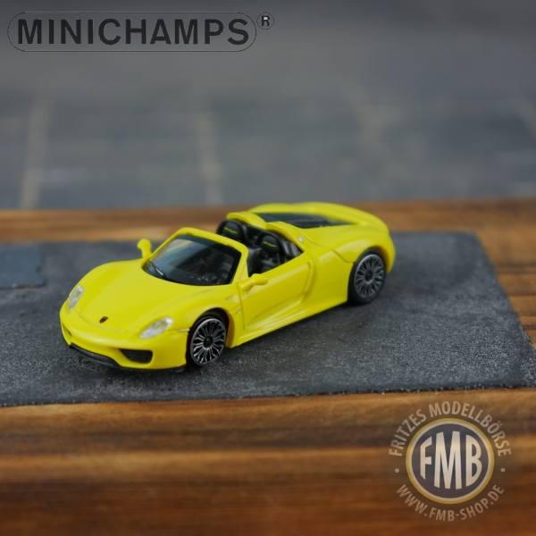 062131 - Minichamps - Porsche 918 Spyder (2013), gelb