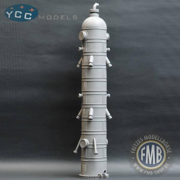 YC570-5 - YCC Models - Reaktor Ladegut - coke drum - grau