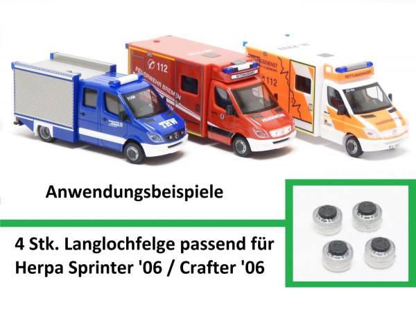 90020 - Mickon - Schwerlastfelge passend für Sprinter `06 / Crafter `06 - 4 Stück