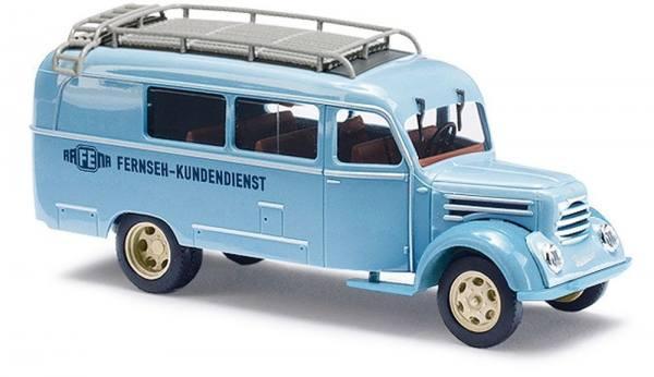 """51862 - Busch - Robur Garant K 30 Kombiwagen """"Rafena Fernseh Kundendienst"""""""