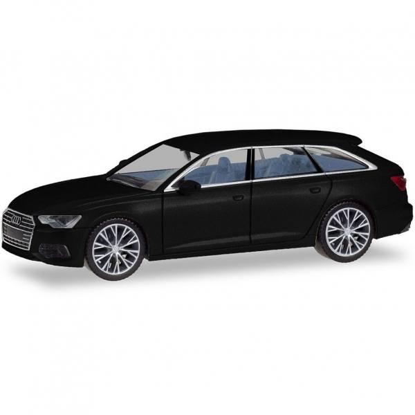 430685 - Herpa - Audi A6 Avant, Felgen zweifarbig, brillantschwarz