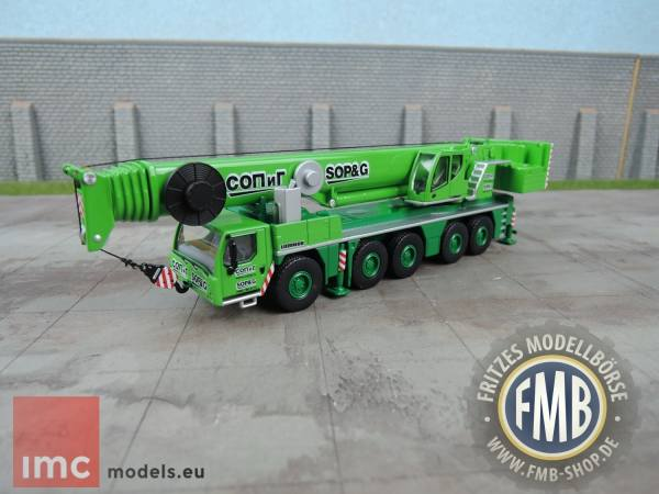 "32-0028 - IMC - Liebherr LTM 1250-5.1 Mobilkran ""SOP & G"" RUS"
