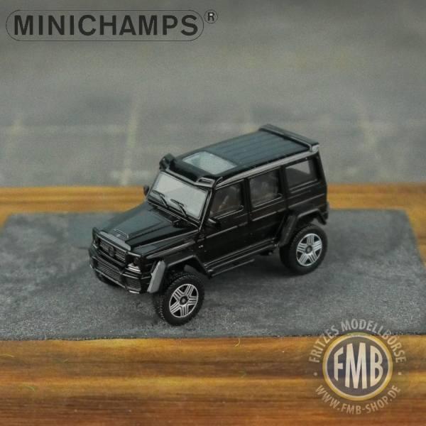 037204 - Minichamps - Brabus 4x4² auf Basis Mercedes-Benz G500 4x4² (2016), schwarz