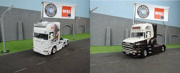 WSI-Set - Scania Streamline TL 6x2 - Tide Spedition  + Scania 4 Torpedo TL 4x2 -Grohganz Transporte-