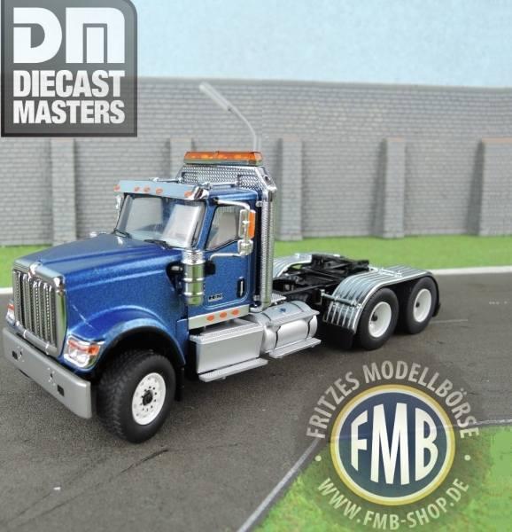 71004 - Diecast Masters - International HX520 3achs Zugmaschine, blau