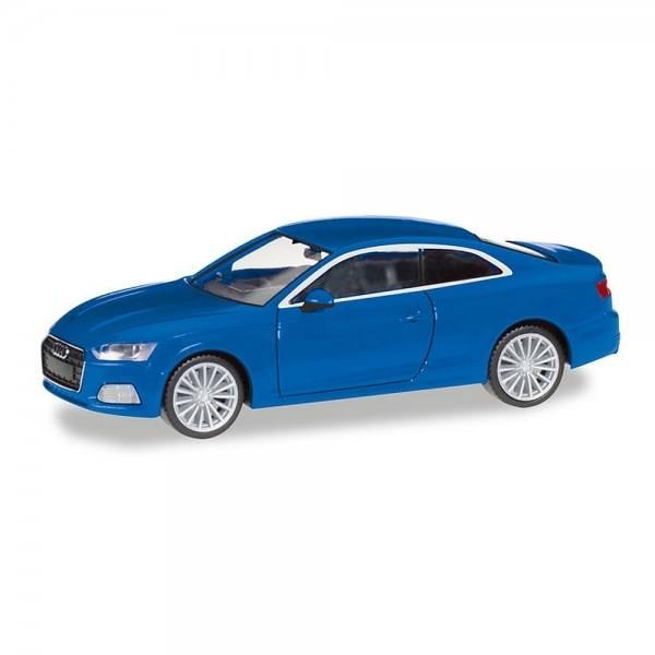 038669-002 - Herpa - Audi A5 Coupé, scubablau metallic