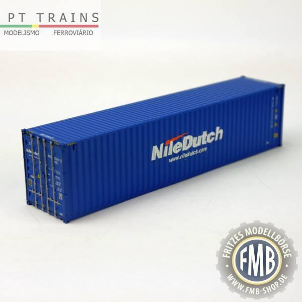 "840013 - PT-Trains - 40ft. Highcube Container ""Nile Dutch - NIDU5236155"""