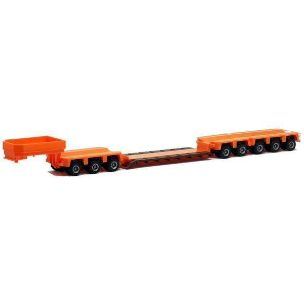 671120 - Herpa - Goldhofer Tieflader 3/5achs, orange