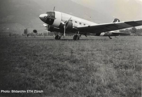 570558 - Herpa - Swissair Douglas DC-3 - HB-IRO -