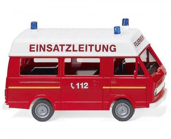 060132 - Wiking - VW LT 28 Bus Hochdach - Feuerwehr Einsatzleitung