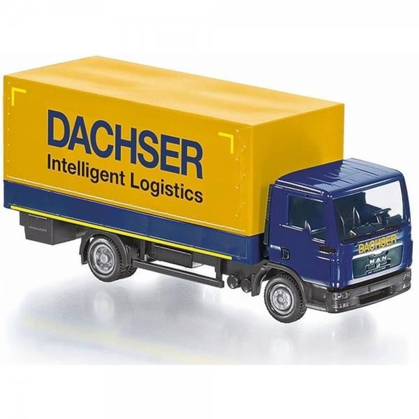 "077428 - Wiking - MAN TGL Pritschen-LKW ""Dachser"" - RC Modell - Control87"