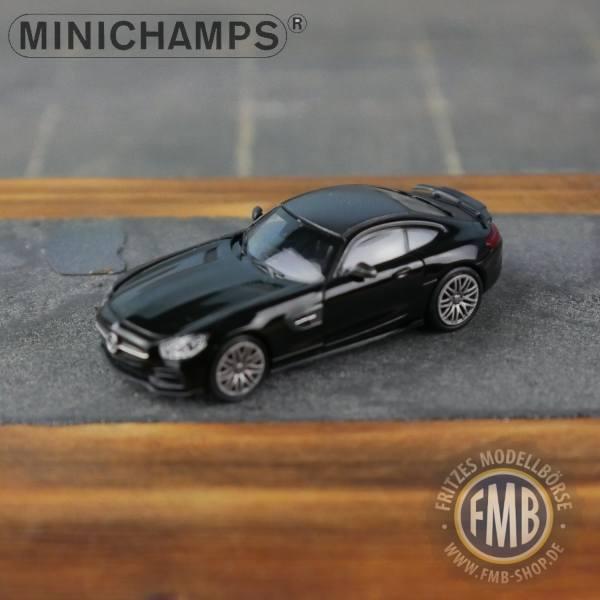 037320 - Minichamps - Brabus 600 auf Basis Mercedes-Benz AMG-GT S (2015), schwarz
