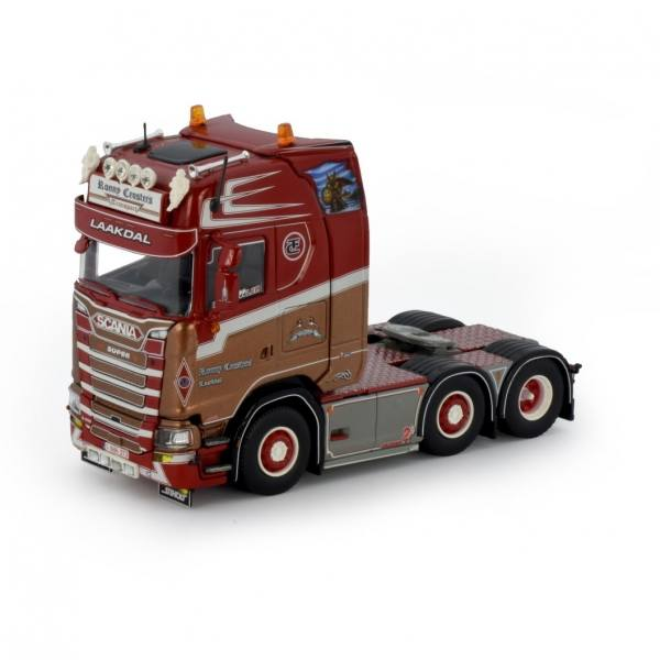 76423 - Tekno - Scania s-serie HL 6x2 3achs Zugmaschine - Ronny Ceusters - B -