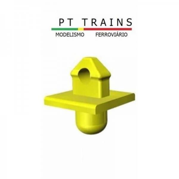 210001 - PT-Trains - Container-Pins mit Platte, gelb
