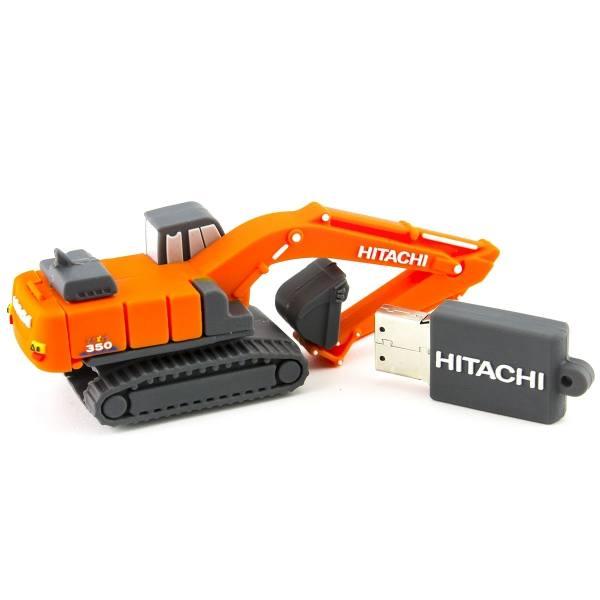3D USB Stick - Hitachi ZX350-6 Bagger - 8 GB Speicher