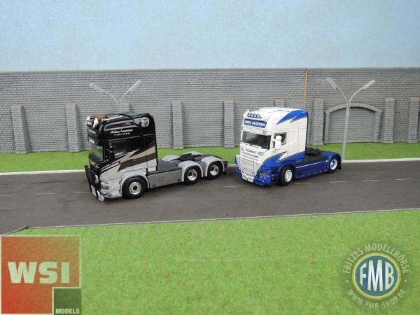 WSI-Set-Scania  TL 6x2  3achs Zugmaschine - A. Lauritzen + Scania TL 4x2 2achs Zugmaschine L.Jaarsma