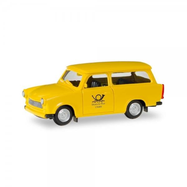 "093095 - Herpa - Trabant Universal ""Deutsche Post"", gelb"