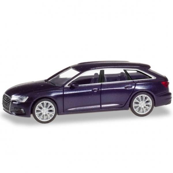 430647-002 - Herpa - Audi A6 Avant, firmamentblau metallic