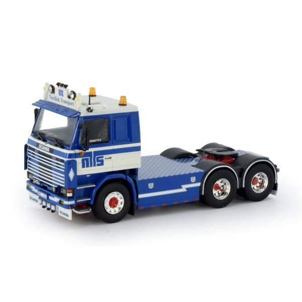 76551 - Tekno - Scania 2-serie 6x2 3achs Zugmaschine - Hugosson Nordisk - S -