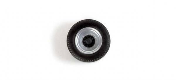 053020 - Herpa - Radsätze für Auflieger - zweiteilig silber/schwarz