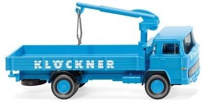 """042301 - Wiking - Magirus 100 D7 Pritschen LKW """"Klöckner Stahlhandel"""""""