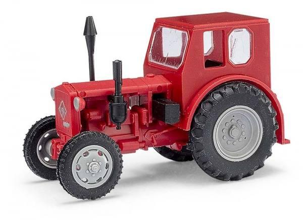 210 006403 - Mehlhose - RS01/40 Pionier Traktor mit Kabine -rot/grau- DDR