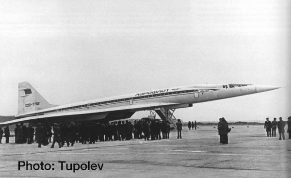 533324 - Herpa - Aeroflot  Tupolev TU-144S  - CCCP-77109 -