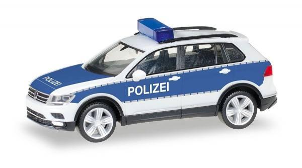 """092623 - Herpa - VW Tiguan Funkstreifenwagen """"Polizei Brandenburg"""""""