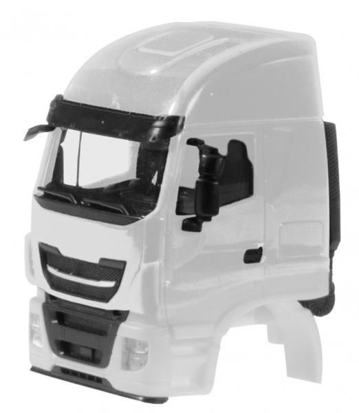085052 - Herpa - TS Iveco Stralis Fahrerhaus ohne WLB, weiß - 2 Stück