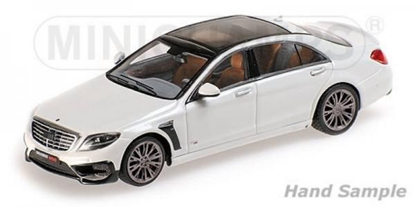 038502 - Minichamps - Brabus 850 auf Basis Mercedes-Benz AMG S 63 (2015), weiß
